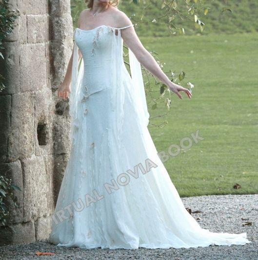 Mejores 14 imágenes de Vestidos de novia medievales en Pinterest ...