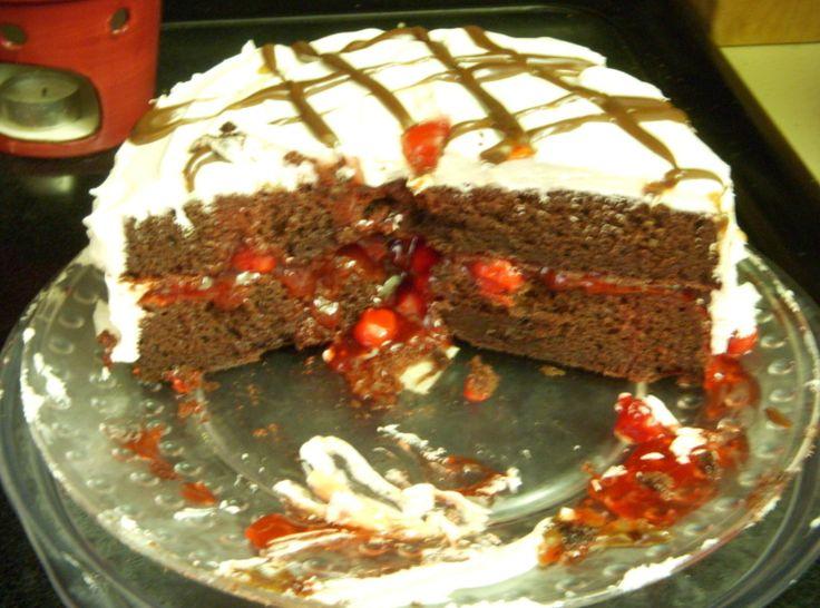 Easy Black Forest Cake | Recipe