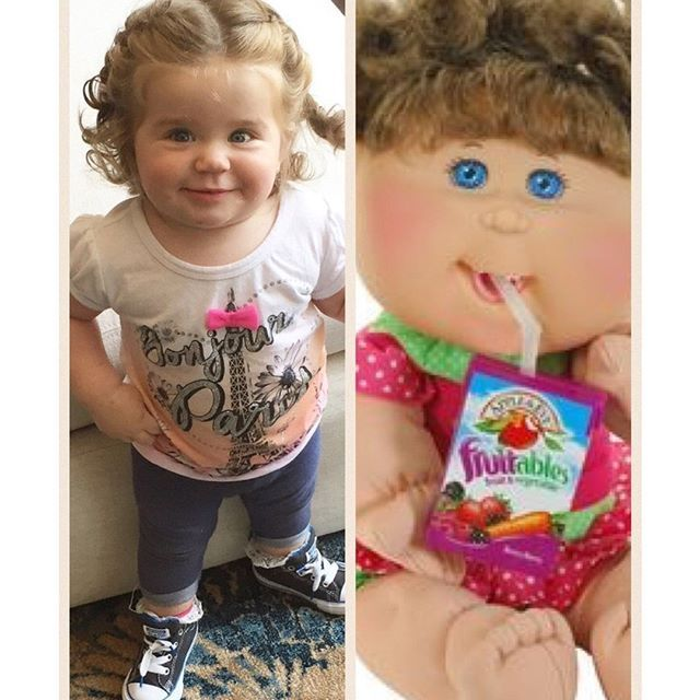 My very own Cabbage Patch cutie!!! #MiaHilton