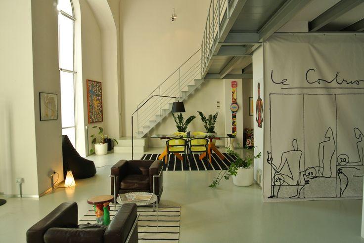 Luce e nuova ispirazione per il nostro studio #loft #architettura #interior