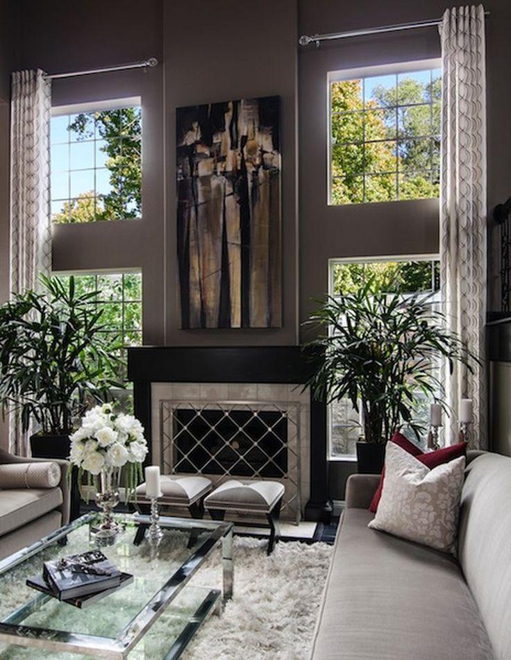 Living Room Curtain Design: 30+ Tall Curtain Living Room Design