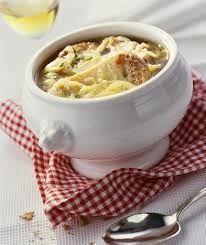 Zuppa di cipolle (cucinare al microonde)