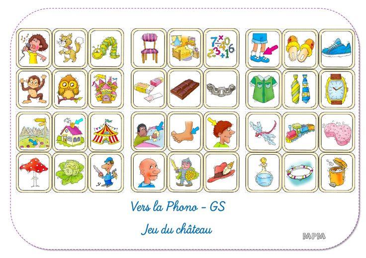 Jeu du château - Vers la phono GS