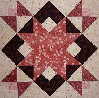 Kathy's Quilts: March 2010 #11 Star Crossover