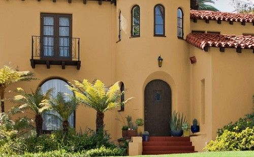 Color de pintura para exterior de casa 2015 buscar con - Casas de pinturas ...