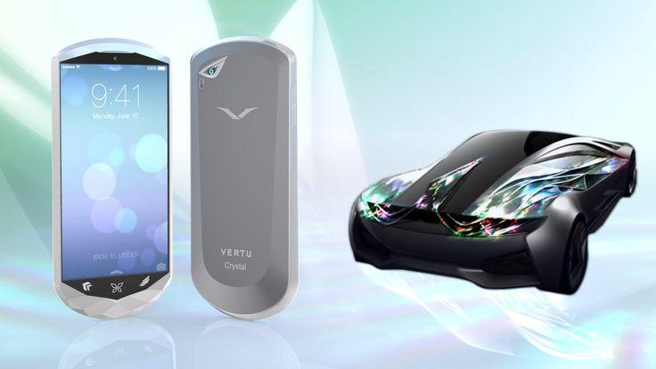 Vertu Crystal Mobile