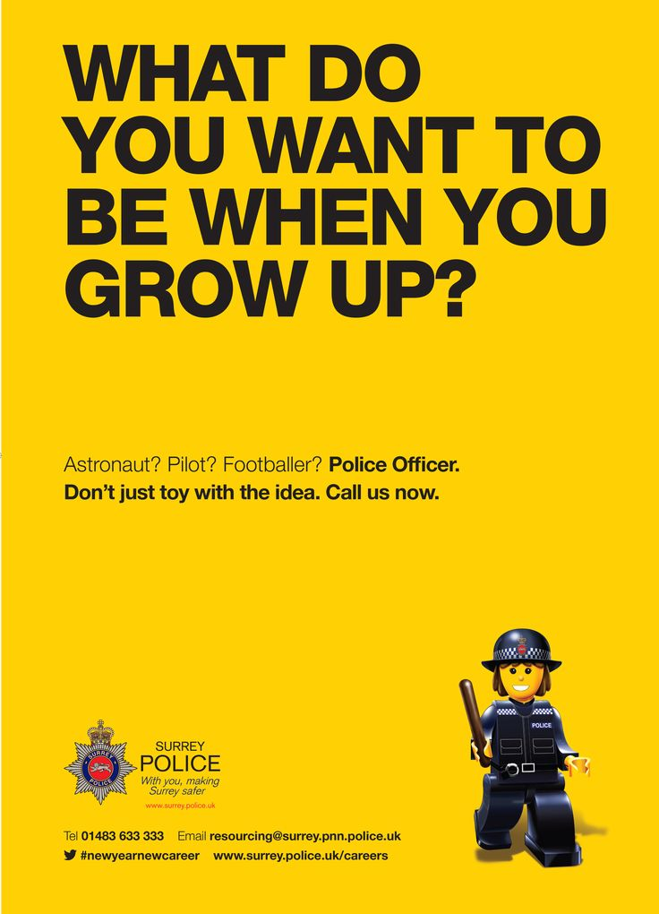 Our Police Officer recruitment campaign which ran early 2015.