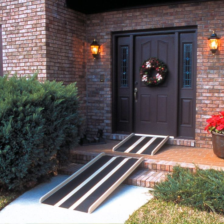 The Travel Ramps™ fiberglass wheelchair ramps are lightweight, yet durable, and can be used with wheelchairs, power chairs, and scooters.