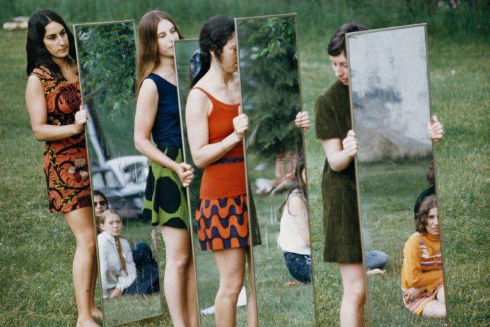 Joan jonas, mirror performance