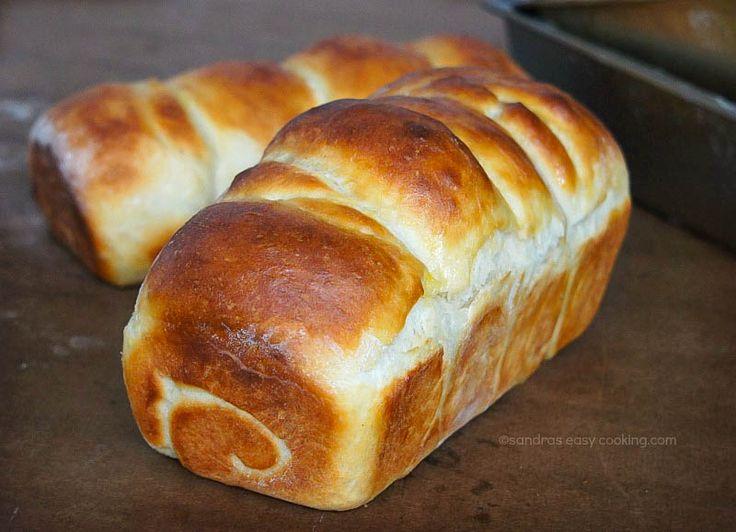 Japanese Hokkaido Cake Recipe: Soft Milk Bread {Hokkaido Toast} Http://www