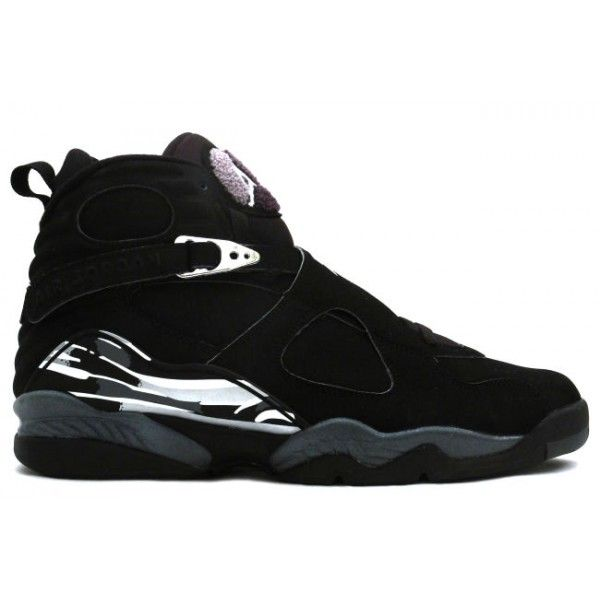 Cheap Buy Nike Air Jordan 8 Phat Retro Black And Chrome Shoes Online  Shopping Store