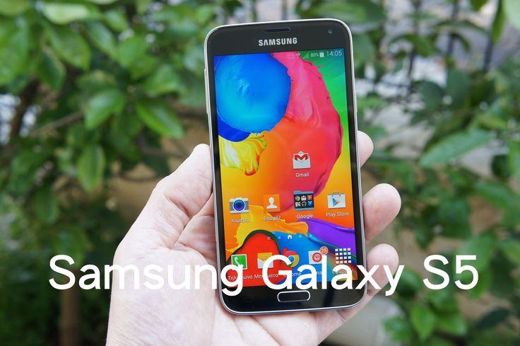 Samsung Galaxy S5 hands-on (Greek)