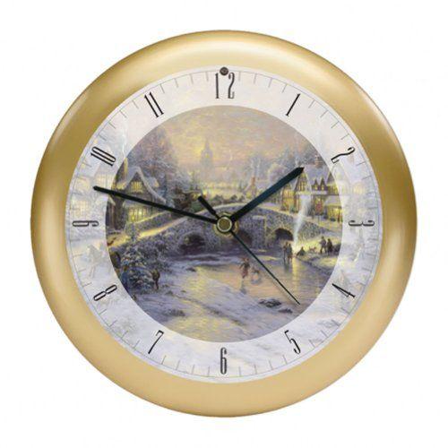 musical christmas clock feldstein - Musical Christmas Clock