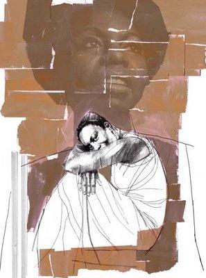 Nina Simone por André Toma