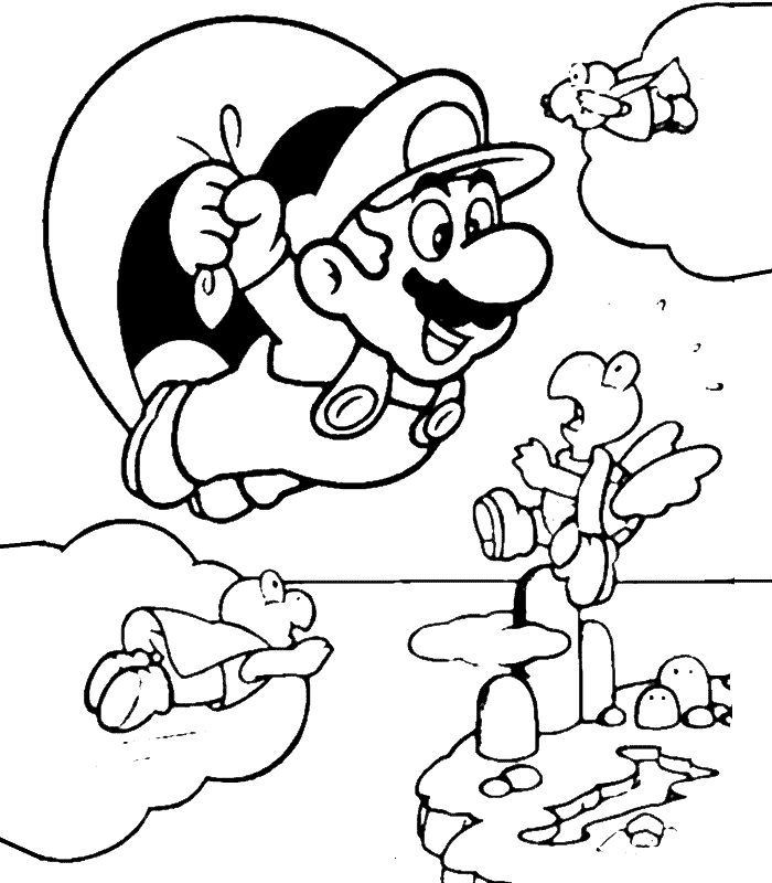 70 best Super Mario images on Pinterest  Coloring sheets