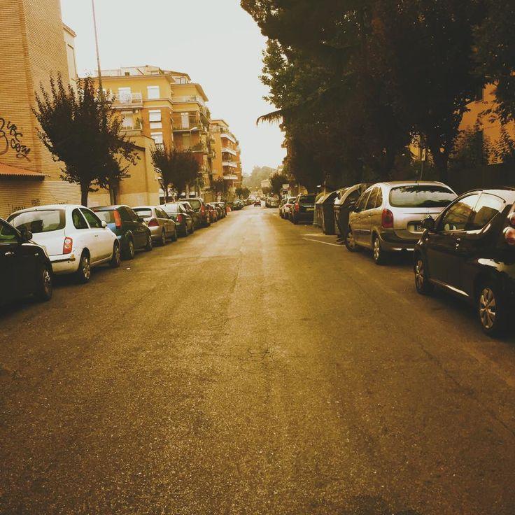 Via Madonna del Riposo, 5.45 AM #westside