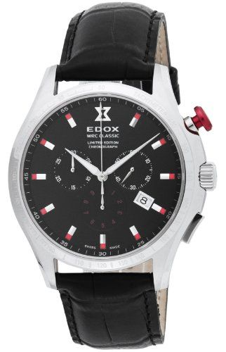 Edox WRC Classic Limited Edition Sport Chronograph 10407 3N NIN - http://uhr.haus/edox/edox-wrc-classic-limited-edition-sport-10407-3n