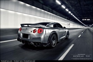 2010 Nissan GTR Black Bison by Wald - http://sickestcars.com/2013/05/20/2010-nissan-gtr-black-bison-by-wald/