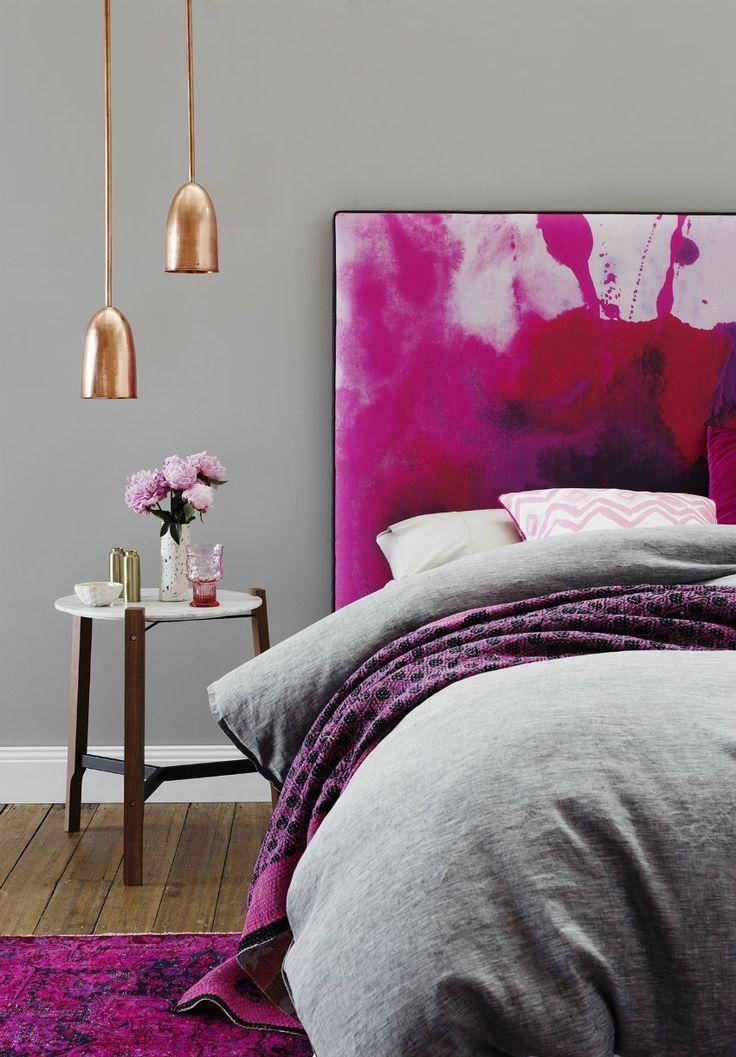 Die perfekten Lampen fürs Schlafzimmer | Pendelleuchte in Kupfer. | www.bocadolobo.com