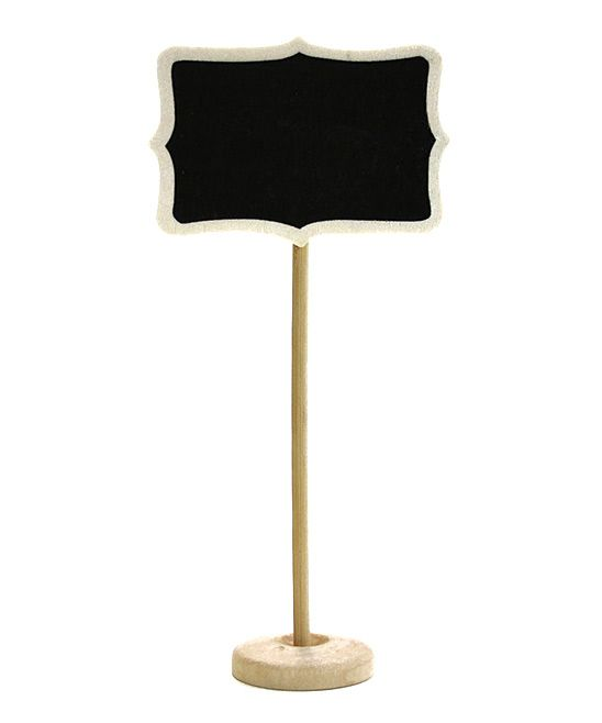 Standing Chalkboard Table Place Card - Set of 10