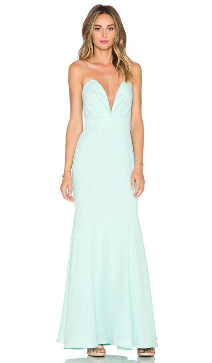 JARLO Helena Maxi Dress in Mint