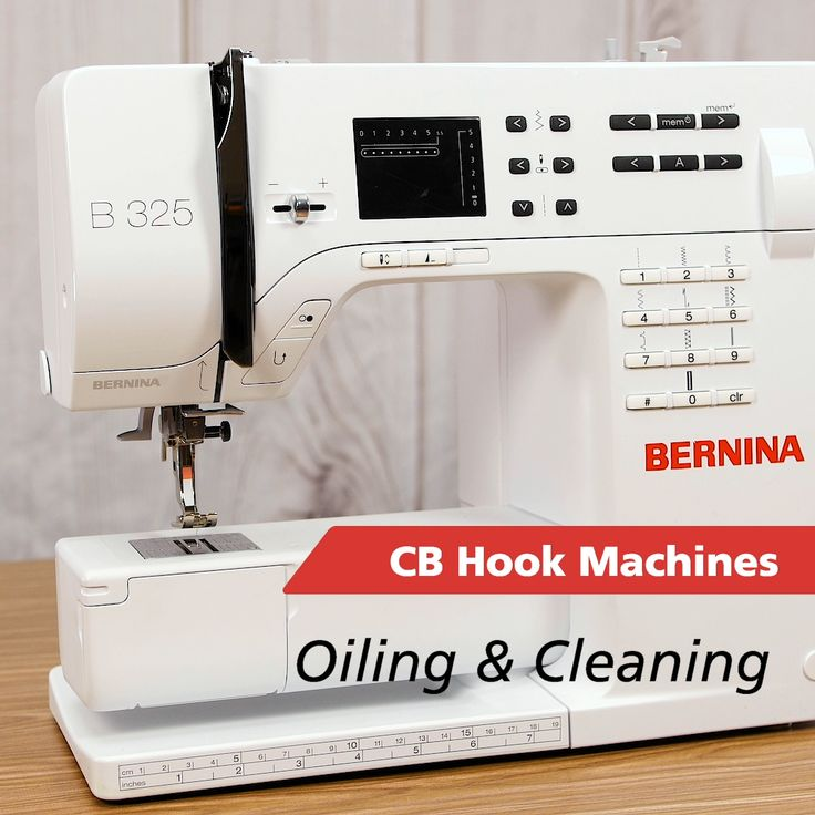 Clean & Oil Your Sewing Machine
