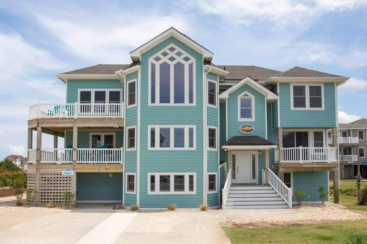 32 best obx new vacation rentals images on pinterest for 8 bedroom vacation homes