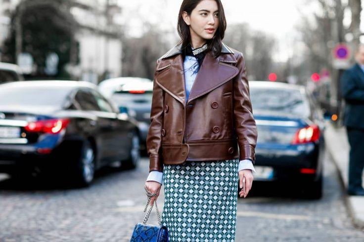 Ένα tip για να θυμάστε όταν φοράτε jacket με φόρεμα