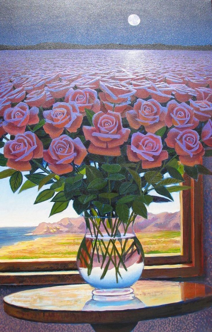 Ernesto Arrisueño, 1957 | Peruvian Magic Realism painter | TuttArt@ | Pittura * Scultura * Poesia * Musica |
