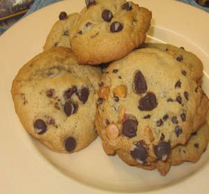 Softest and Chewiest Chocolate Chip Cookies ♥