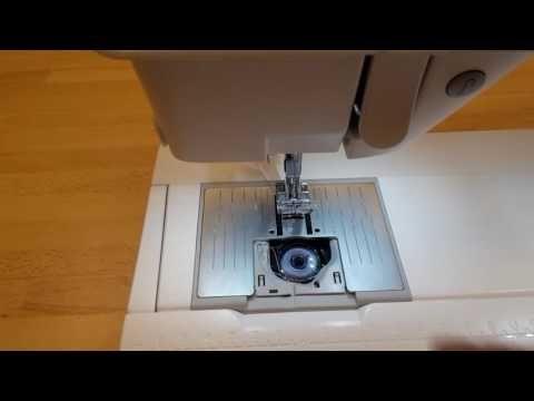 Symaskine Torvet - Fjern trådsammenfiltring under stingpladen - YouTube