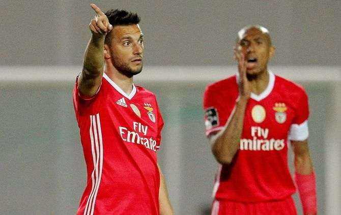 Samaris e Luisão, SL Benfica