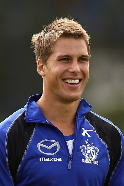 Andrew Swallow from the North Melbourne Kangaroos