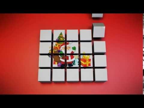 xmas cube assembly - YouTube