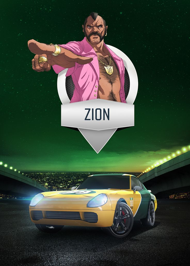 Zion - mobile game poster by T-Bull Entertainment