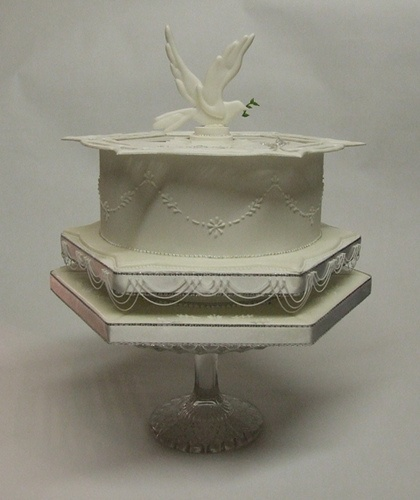 First Holy Communion Cake by Alix s Cakes, via Flickr