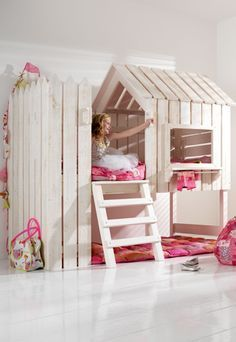 Combine this idea with ikea kura bed