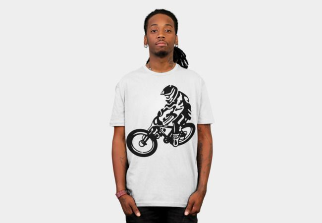 Downhill moutain biking tshirt