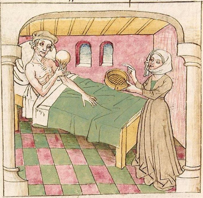 Antonius <von Pforr> Buch der Beispiele der alten Weisen — Oberschwaben, um 1475 Cod. Pal. germ. 466 Folio 81v