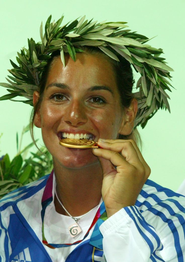 Sofia Bekatorou, 1977- , is a retired competitive sailor from #Athens, #Greece. Bekatorou has competed in over 470 main events. She has gold (Athens '04) and bronze (Beijing '08) Olympic medals, a gold medal ('03) from the ISAF World Championship, three gold medals ('00, '01, & 02') from the 470 World Championships, two gold medals (00' & 01') and a silver medal ('02) from the 470 European Championships, and a bronze medal ('07) from the Yngling European Championships.
