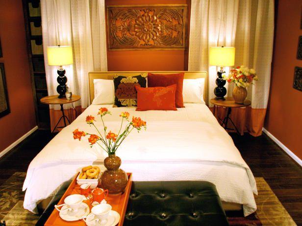 spaces orange bedrooms burnt orange bedroom bedroom colors bedroom