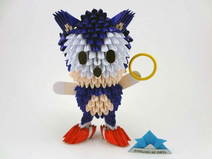 Origami 3D - Sonic