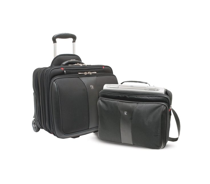 "Wenger PATRIOT Rolling 2-Piece Business Set Notebook carrying case, 17"" (WA-7953-02F00)"