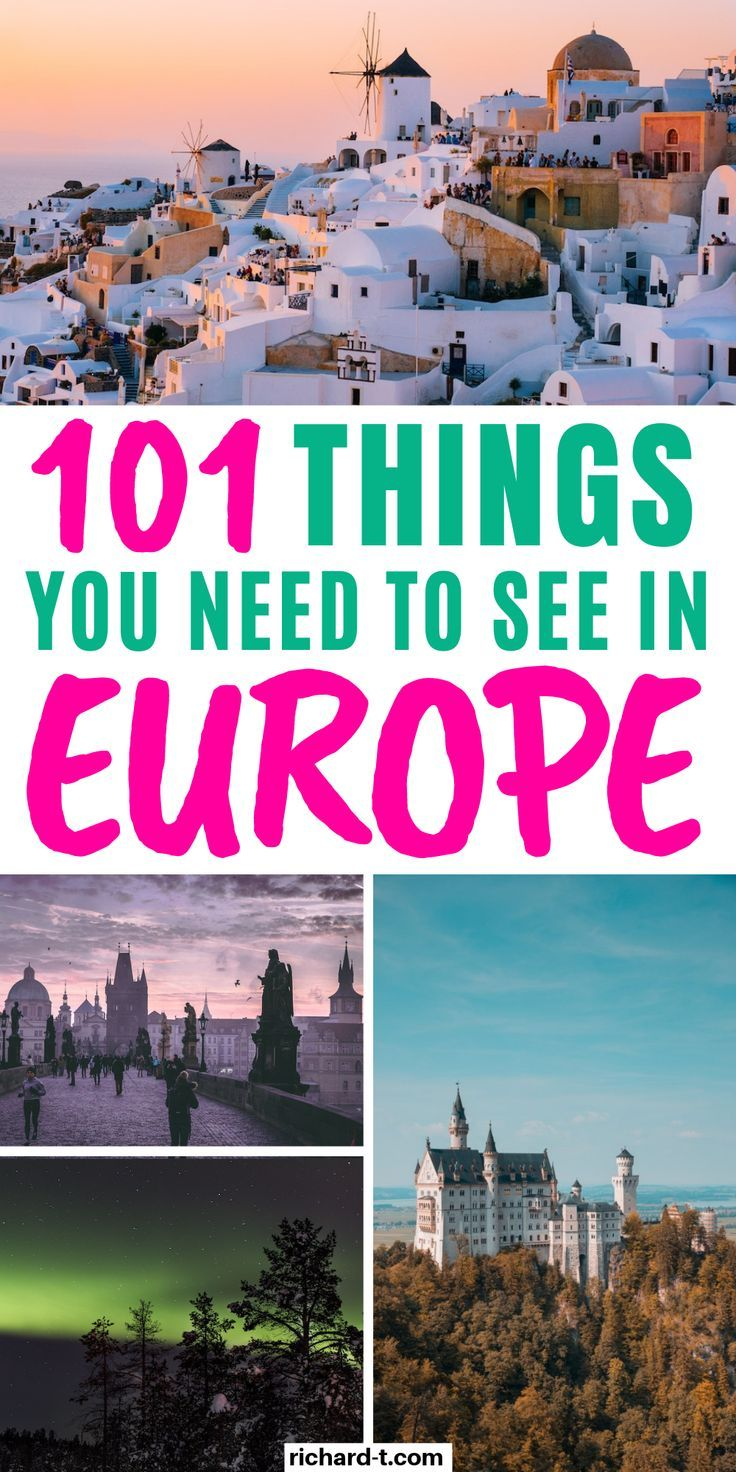 The Ultimate 100 Travel European Bucket List You Need European Bucket List Europe Travel European Travel