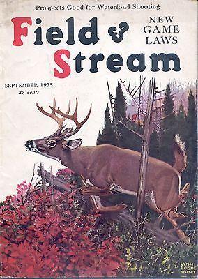 9 1935 Field Stream Magazine Lynn Bogue Hunt | eBay