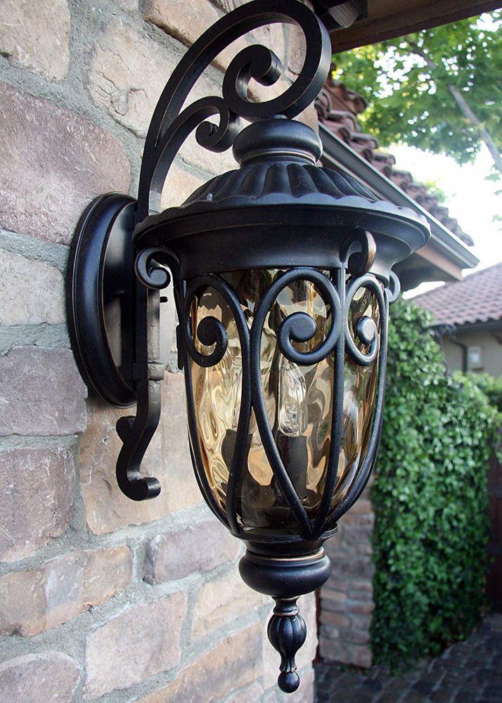 Traditional Outdoor Light Fixture Modern Incandescent Bulb Oil Rubbed Bronze Aawarehousing Outdoor Wall Lantern Wall Lantern Outdoor Light Fixtures