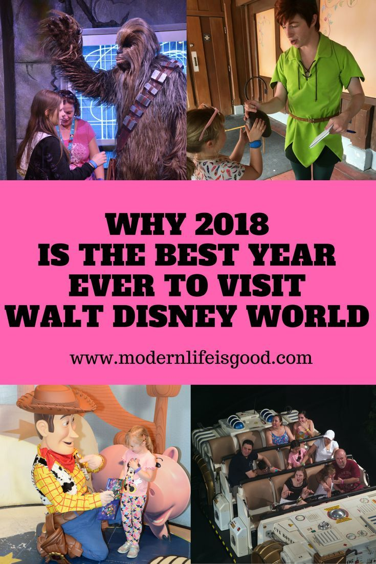 2018 is the Best Year Ever to Visit Walt Disney World. Why we think 2018 is the best year ever for your Disney World Vacation. Toy story Land, Pandora and less crowds