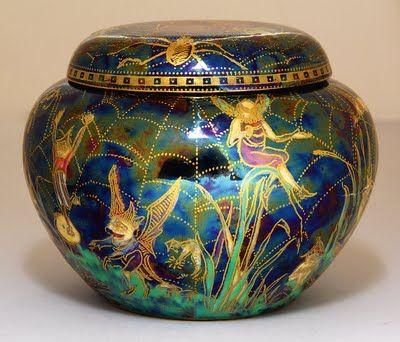 'Daisy' Makeig-Jones (1881-1945) Fairy luster