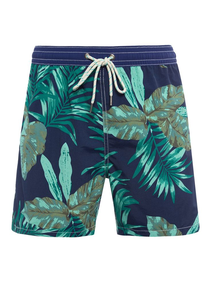 SHORT MASCULINO PRAIA WEST POINT - AZUL E VERDE