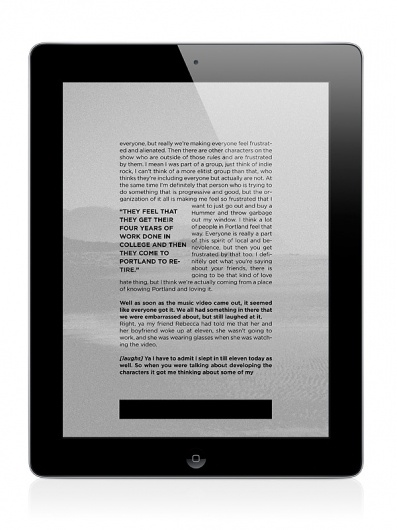 Letter to Jane Magazine: Moral Tales on the Behance Network
